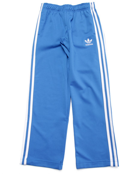 Adidas Boys Junior Superstar Track Pants Blue Medium