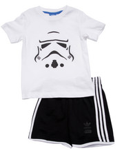 Boys - Star Wars Stormtrooper 2PC Short Set (Inf-4T)