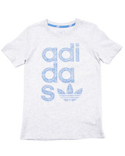 Sizes 7-16 - Big Kids - Junior Reverse Print Logo Tee