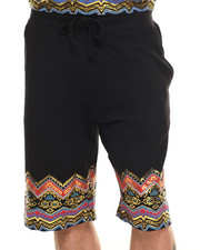 Men - Dashiki Drawstring shorts