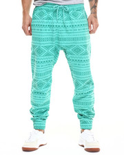Buyers Picks - Aztec vintage print joggers