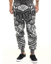 Men - All over Tribal King jogger pants