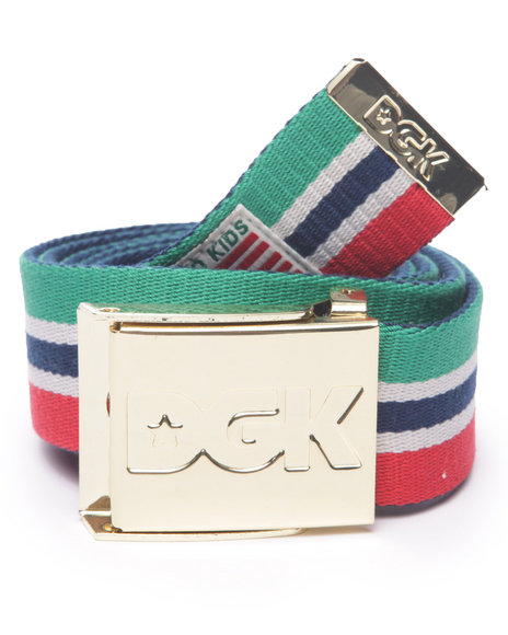 Dgk Men Hustle Sport Scout Belt Multi