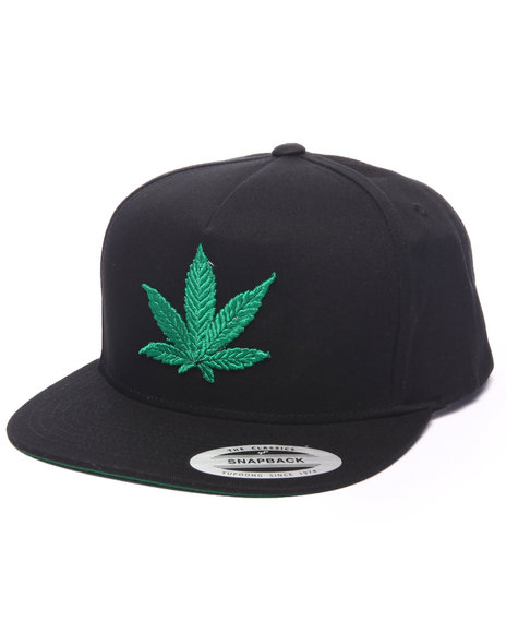 Deadline Men Chronic Snapback Cap Black