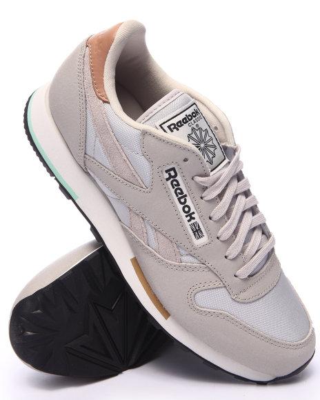 Ur-ID 217559 Reebok - Men Light Grey Classic Leather Casual Lo
