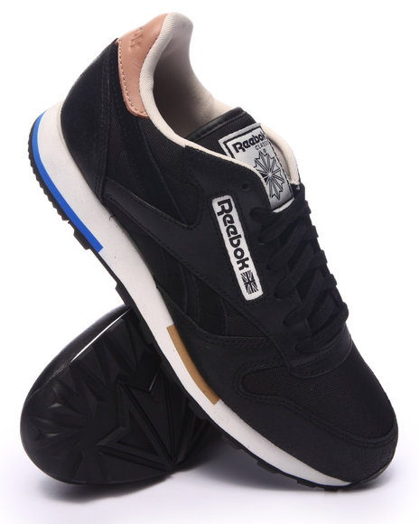 Ur-ID 217561 Reebok - Men Black Classic Leather Casual Lo