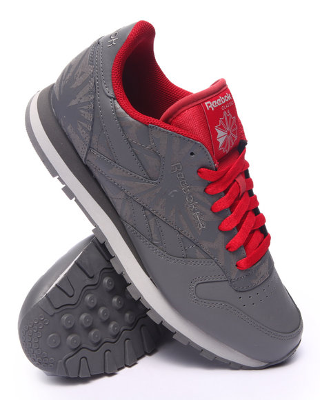 Ur-ID 217565 Reebok - Men Grey C L Leather 3 M Reflect