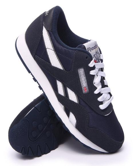 Ur-ID 217578 Reebok - Women Navy Classic Nylon Sneakers