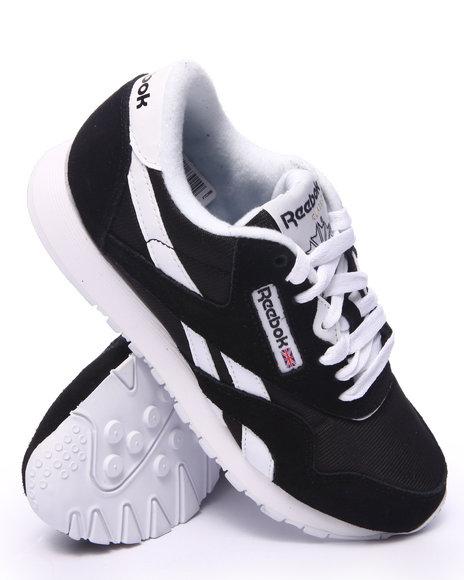 Reebok - Women Black Classic Nylon Sneakers