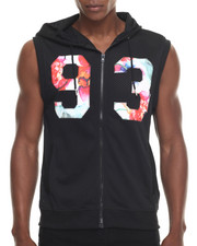 Buyers Picks - Floral & Mesh hoody Vest