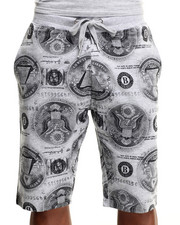 Men - Ca$h Money Print Shorts