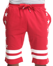 Men - Stars & Stripe Drawstring Shorts