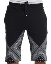 Buyers Picks - Bandana Print Double 0 Drawstring Shorts