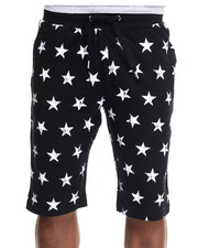 Men - Stars & Stripes Mix Drawstring Shorts