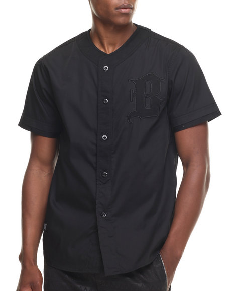 Ur-ID 217661 Buyers Picks - Men Black Mesh Trim S/S Tee
