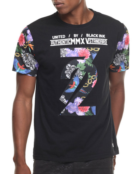 flower mmxv sublimation s s tee