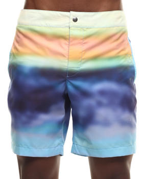 Men - Ombre Stripe Board Short