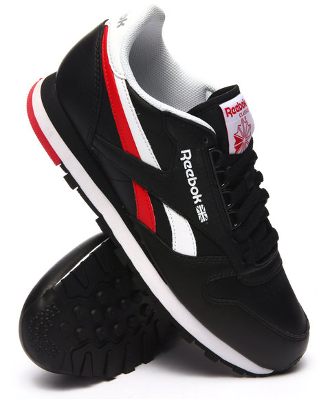 Reebok - Men Black Classic Leather R E Heritage