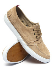 The Skate Shop - Yacht Club Tan Suede Sneakers