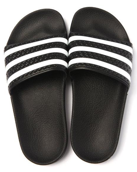 Ur-ID 217680 Adidas - Women Black Adilette Sandals (Unisex)