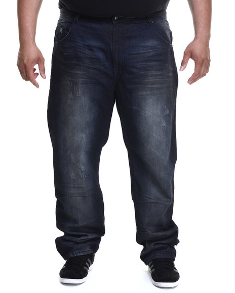 Parish - Men Dark Wash Denim Dirty Wash (B&T) - $56.99