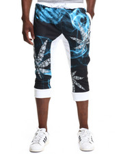 Buyers Picks - Diamonds & Leafs Jogger Shorts