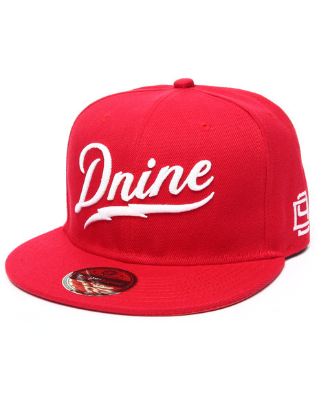 Dnine Reserve Men Dnine Bolt Snapback Red