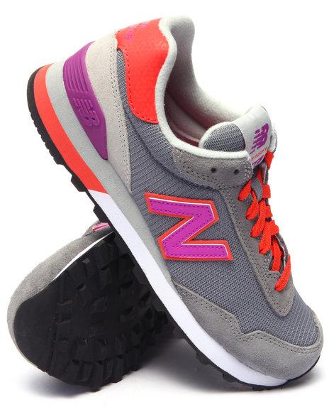 Ur-ID 217679 New Balance - Women Grey 515 Modern Classics Sneakers