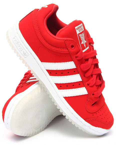 Adidas - Men Red Top Ten Lo Sneakers (Unisex)