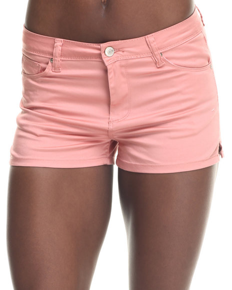 Ur-ID 217691 Bianco Jeans - Women Coral Premium Stretch Denim Short
