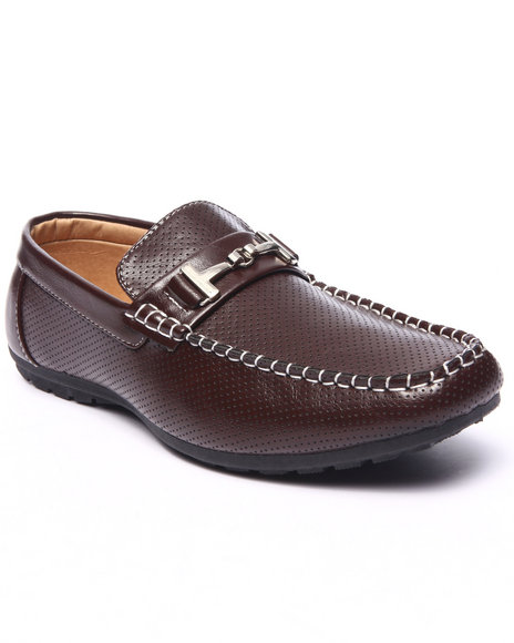 Ur-ID 217707 Buyers Picks - Men Brown Jack Classic Formal Driving Loafer