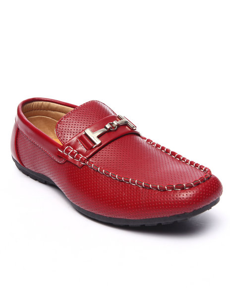Ur-ID 217708 Buyers Picks - Men Red Jack Classic Formal Driving Loafer