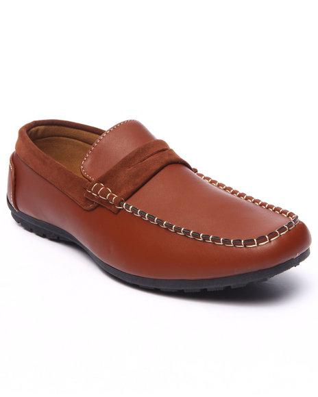 Ur-ID 217711 Buyers Picks - Men Brown Patrick 2-Tone Sport Loafer