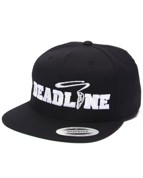 Deadline Men Friday Snapback Cap Black