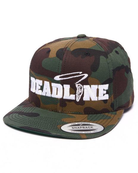 Ur-ID 223199 Deadline - Men Camo Friday Snapback Cap