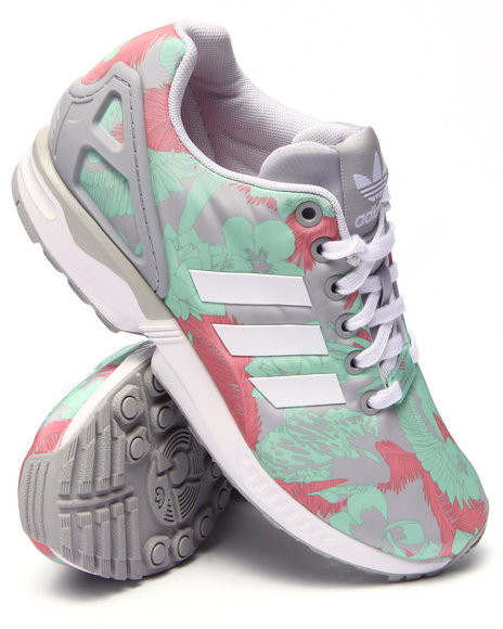 Ur-ID 217678 Adidas - Women Light Grey Zx Flux W Sneakers