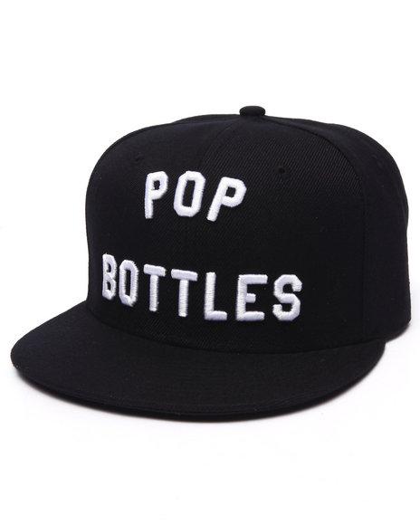 Ur-ID 223201 Buyers Picks - Men Black Pop Bottles Snapback Hat