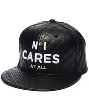 Men - No 1 Cares Quilted snapback hat