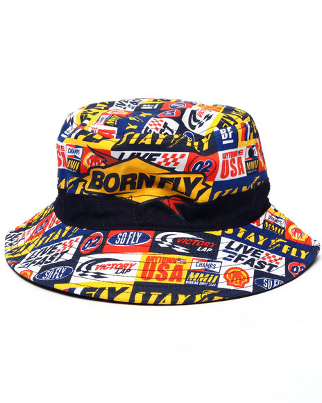 Born Fly - Men Navy Dillon Bucket Hat