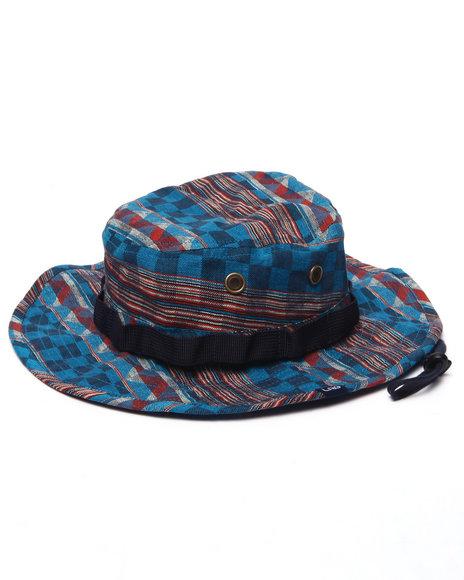Ur-ID 223203 LRG - Men Navy,Navy Bambara Boonie Hat