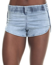 Basic Essentials - Elastic Waist Dolphin Short