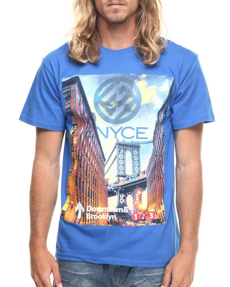 Enyce - Men Blue Brooklyn T-Shirt