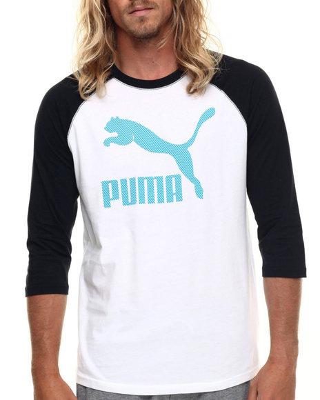 Ur-ID 217756 Puma - Men Black,White Signature Graphic Raglan Tee