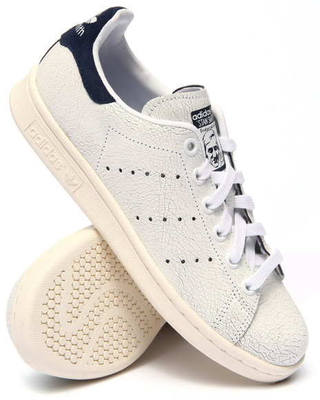 Ur-ID 217675 Adidas - Women White Stan Smith W Crackle Leather Sneakers