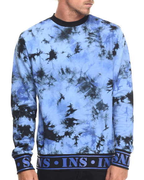 Ur-ID 217761 Insight - Men Blue Dreamscape Fleece Sweatshirt