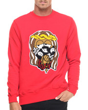 Men - D9 x MINA KWON JESUS PIECE CREWNECK LTD
