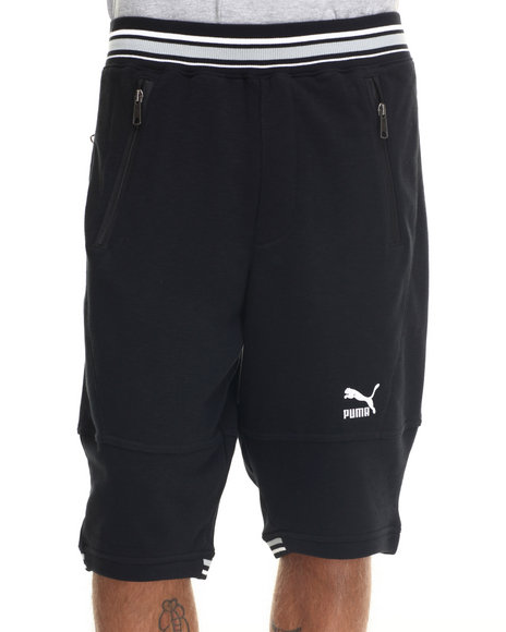 Ur-ID 217775 Puma - Men Black Progressive Fleece Shorts