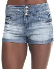 Basic Essentials - Flap Pocket High Waist Short