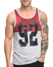 Shirts - Bandana Cut & Sewn tank top