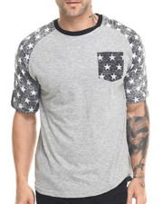 Buyers Picks -  Washed Stars Raglan Tee